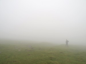 Tåge på Mykines