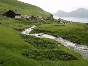 Gjógv, Færøerne