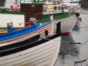 Færøske fiskerbåde