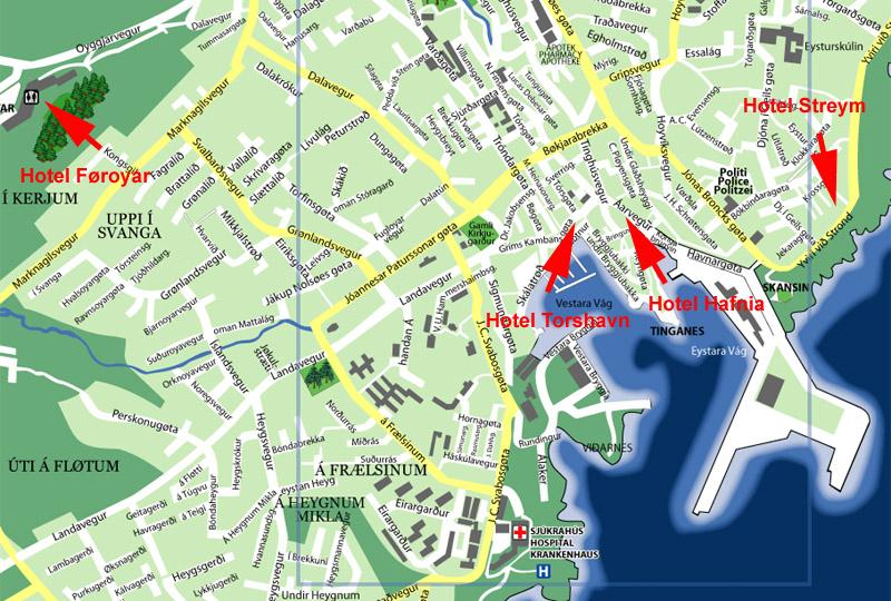 Hoteller i Tórshavn
