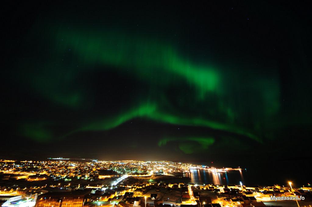 Nordlys Torshavn
