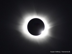 Total Solar Eclipse, Faroe Islands, Corona