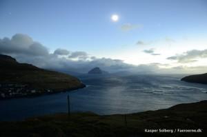 Under selve solformørkelsen ændredes lyset totalt